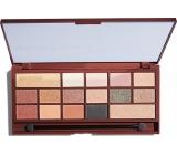 I Heart Revolution Chocolate paletka očních stínů 24k Gold 22 g
