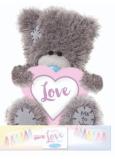 Me to You Medvídek Love heart 14 cm
