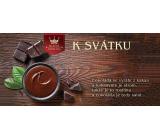 Bohemia Gifts Mléčná čokoláda K svátku, dárková 100 g