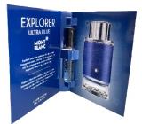 Montblanc Explorer Ultra Blue parfémovaná voda pro muže 2 ml s rozprašovačem, vialka