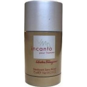 Salvatore Ferragamo Incanto Homme deodorant stick pro muže 75 ml
