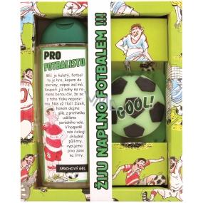 Bohemia Urbanova kosmetika Pro fotbalistu sprchový gel 300 ml + ručně vyráběné toaletní mýdlo 35 g, kosmetická sada