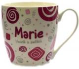 Nekupto Twister hrnek se jménem Marie růžový 0,4 litru 044 1 kus