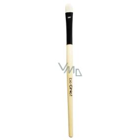 Be Chic! Professional White B 14 kosmetický štětec na oči, přírodní bílý kozí vlas 16,2 cm