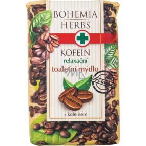 Bohemia Gifts & Cosmetics Kofein relaxační toaletní mýdlo 100 g