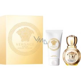 Versace Eros pour Femme parfémovaná voda 30 ml + tělové mléko 50 ml, dárková sada