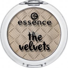 Essence The Velvets Eyeshadow oční stíny 03 Smooth Caramel 3 g