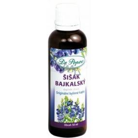 Dr.Popov Šišák bajkalský originální bylinné kapky proti únavě a stresu 50 ml