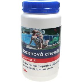 Mika Bazénová chemie Chlor šok F1 přípravek pro rychlou úpravu vody 1 kg