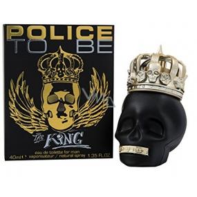 Police To Be The King toaletní voda pro muže 40 ml