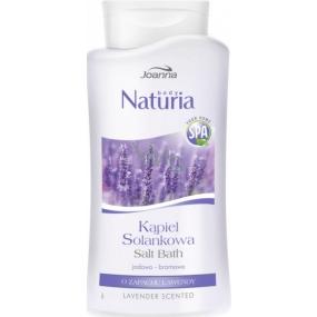 Joanna Naturia Body Levandule Jodovo-bromová solanková lázeň 500 ml