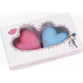 Albi Svatba Mýdla svatební ve tvaru srdce 130 g