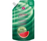 Dermacol Aroma Ritual Vodní meloun Osvěžující mýdlo na ruce náhradní náplň 500 ml