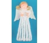 Anděl na postavení v sukni 20 cm č.2