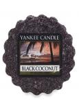Yankee Candle Black Coconut - Černý kokos vonný vosk do aromalampy 22 g