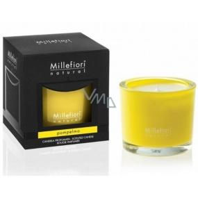 Millefiori Milano Natural Pompelmo - Grep Vonná svíčka hoří až 60 hodin 180 g