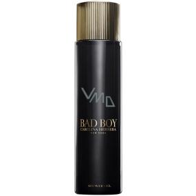 Carolina Herrera Bad Boy sprchový gel pro muže 200 ml