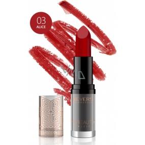 Revers HD Beauty Lipstick rtěnka 03 Alice 4 g
