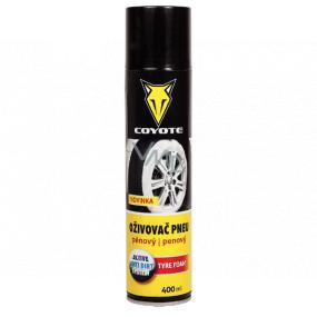 Coyote Oživovač pneu pěnový sprej 400 ml