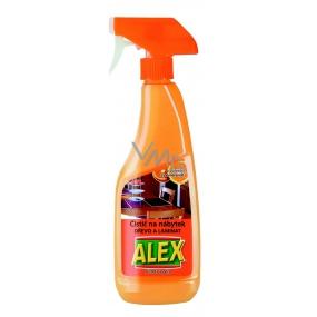 Alex Pomeranč sprej čistič na laminátový a dřevěný nábytek 375 ml