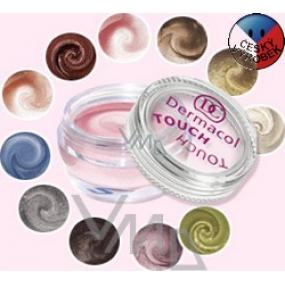 Dermacol Pearl Touch Eyeshadow vysoce třpytivé pěnové oční stíny 4,9 g odstín 1