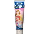 Oral-B Stages Disney Princezny 6+ let Zubní pasta pro děti 75 ml