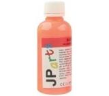 JP arts barva na textil na světlé materiály svítící ve tmě neon oranžová 50 g