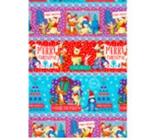 Ditipo Disney Vánoční balicí papír pro děti Medvídek Pú barevný 100 x 70 cm 2 kusy