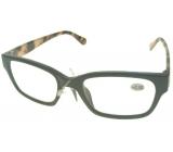 Berkeley Čtecí dioptrické brýle +2,0 plast černé stranice tygrové 1 kus ER4198