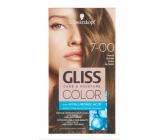 Schwarzkopf Gliss Color barva na vlasy 7-00 Tmavá blond 2 x 60 ml