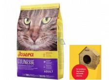Josera Culinesse Kuřecí maso + losos kompletní krmivo pro dospělé kočky žijící v bytě i venku 2 kg + domek pro kočky