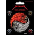 Epee Merch Metallica Vinylové samolepky 5 kusů