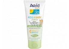 Astrid Sun Kids & Baby OF30 jemný krém na opalování 100 ml