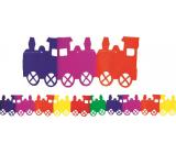 Girlanda Vláček barevná 400 x 18 cm
