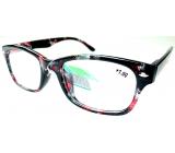 Berkeley Čtecí dioptrické brýle +1 plast černo-červené 1 kus MC2197