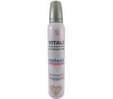 Vitale Exclusively Professional barvící pěnové tužidlo s vitaminem E Pearl Beige - Perleťově béžová 200 ml