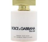 Dolce & Gabbana The One Female CBM krémové koupelové mléko 200 ml