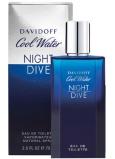 Davidoff Cool Water Night Dive toaletní voda pro muže 125 ml