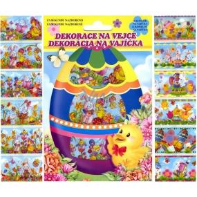 Fólie na vajíčka obrázkové 12 košilek v balení (smršťovací košilky)