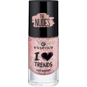 Essence I Love Trends Nail Polish The Nudes lak na nehty 04 Cupcake Topping 8 ml
