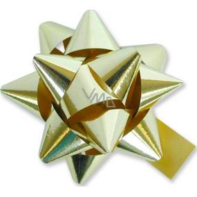 Nekupto Hvězdice velká metal zlatá HY 13001 8 cm