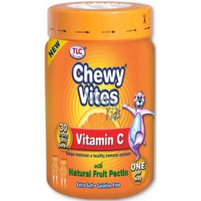 Chewy Vites Vitamin C výživový doplněk pro děti starší 12 měsíců 30 kusů