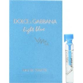Dolce & Gabbana Light Blue toaletní voda pro ženy 2 ml, Vialka