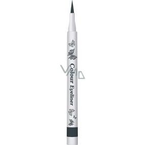 Dermacol Colour Eyeliner barevný fix na oči 05 Intense Grey 1 g