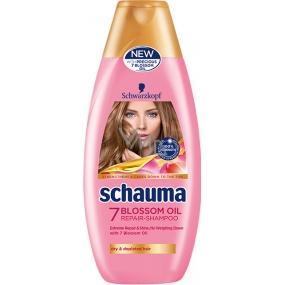 Schauma 7 Blossom Oil regenerační šampon pro suché a vyčerpané vlasy 400 ml