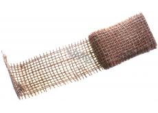 Ditipo Stuha jutová metalická Měděná 2 m x 5 cm
