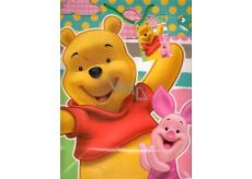 Ditipo Disney Dárková papírová taška dětská L Medvídek Pú, What a Fun Day! 26 x 13,7 x 32,4 cm 2902 009