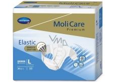 MoliCare Premium Elastic 6 kapek L 110-150 cm zalepovací plenkové kalhotky pro střední až těžký stupeň inkontinence 30 kusů