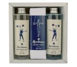 Bohemia Gifts Sportsman sprchový gel 250 ml + šampon na vlasy 250 ml + toaletní mýdlo 145 g, pro muže kosmetická sada