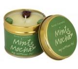 Bomb Cosmetics Mint Mocha Vonná přírodní, ručně vyrobena svíčka v plechové dóze hoří až 35 hodin